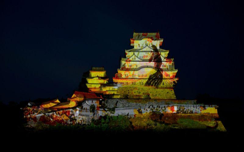 姬路城3D光影秀