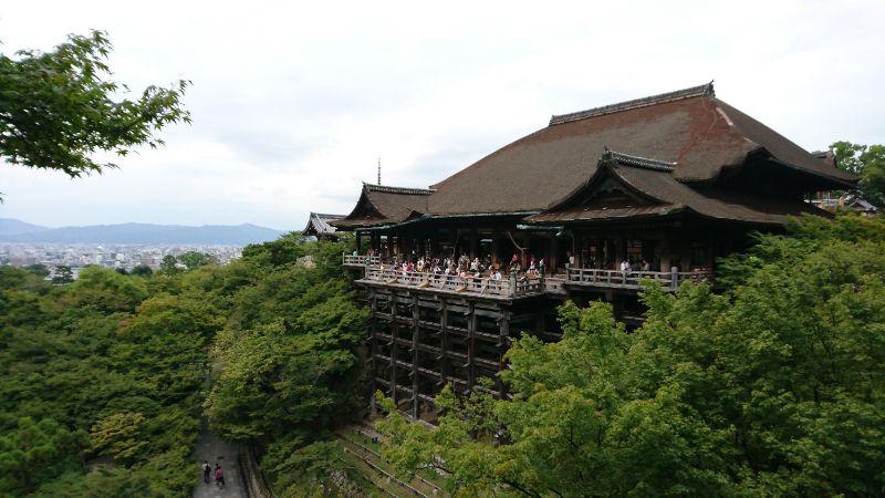 清水寺本殿與舞台