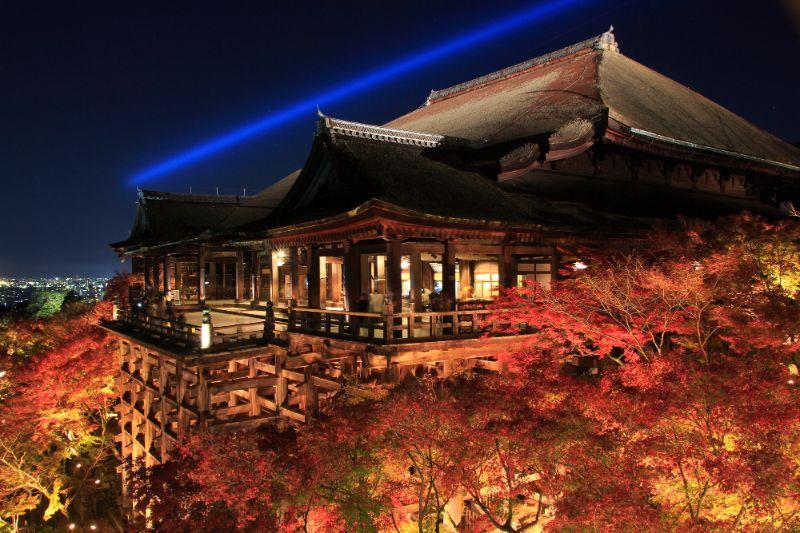 清水寺夜間點燈