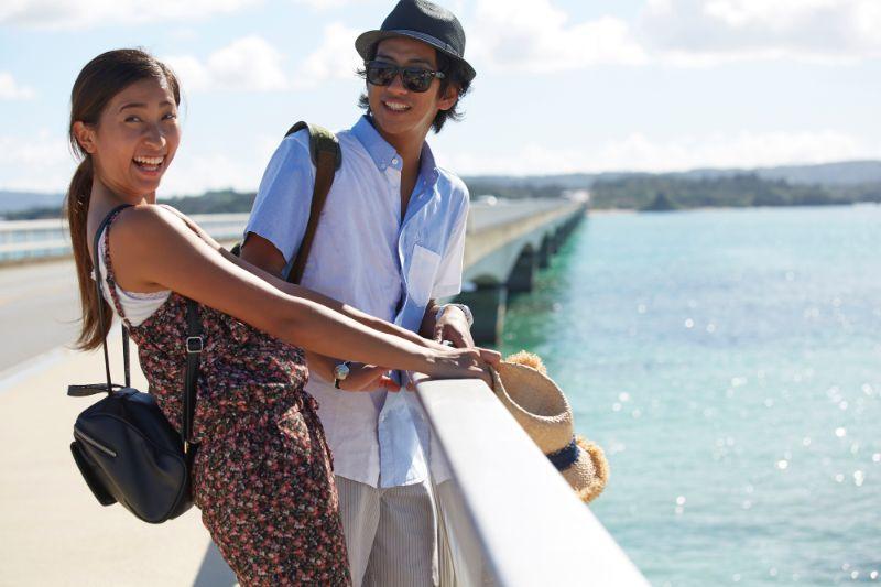 沖繩旅遊的觀光客