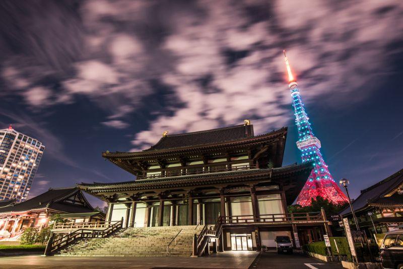 東京跨年 增上寺
