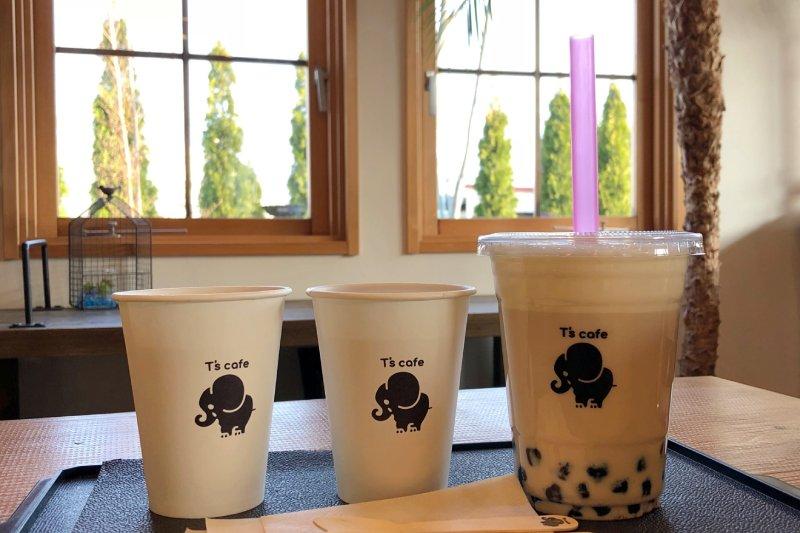 富士山河口湖咖啡廳T's cafe飲料