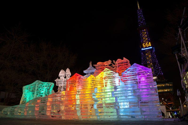 北海道札幌冬天雪祭