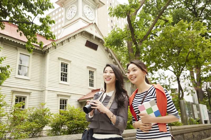 北海道札幌的觀光客