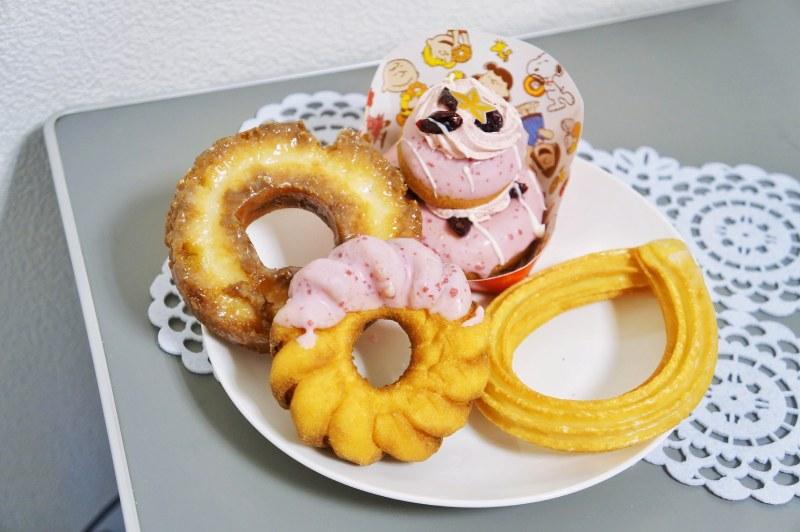 日本Mister Donut的多種甜甜圈