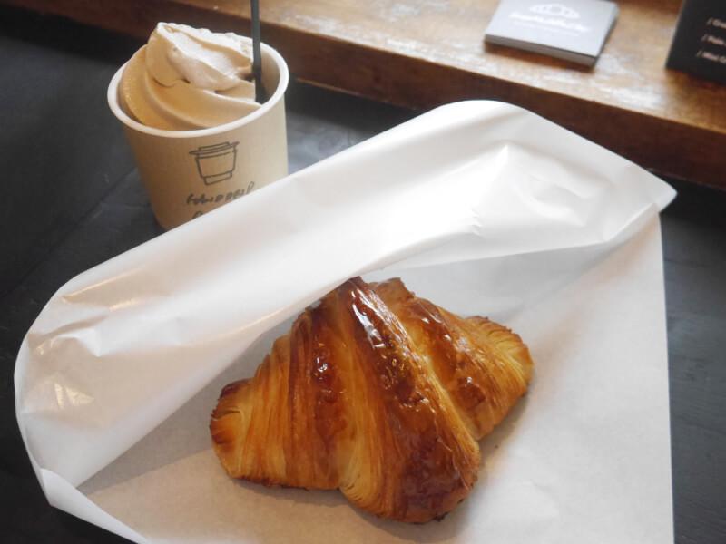 Croissant Coffee Shop可頌麵包與霜淇淋