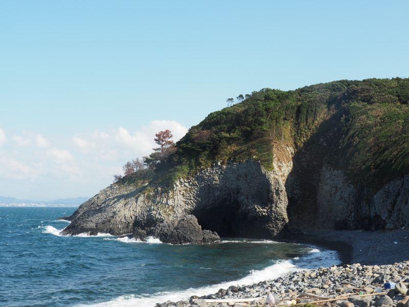 玄武岩地質的獨特風景