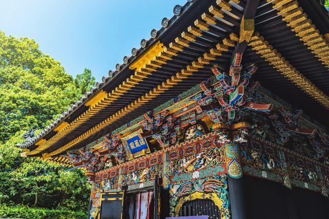 仙台市內景點「瑞鳳殿」