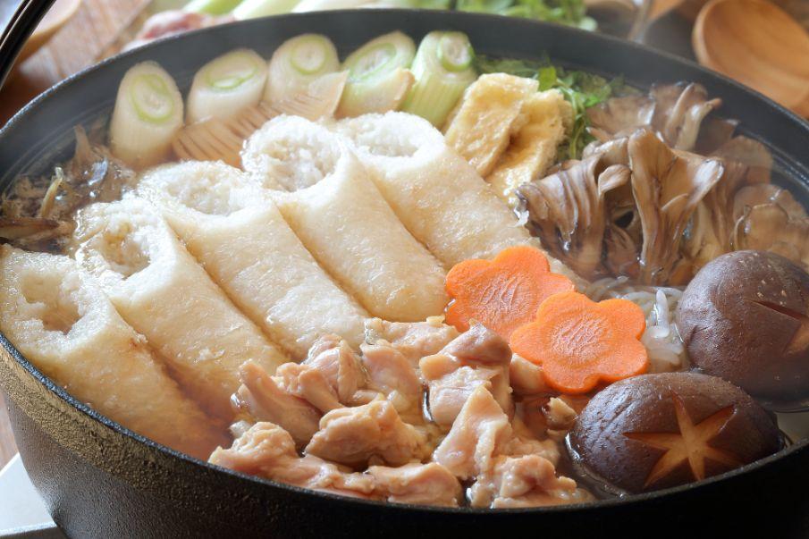 秋田縣鄉土料理「米棒鍋」