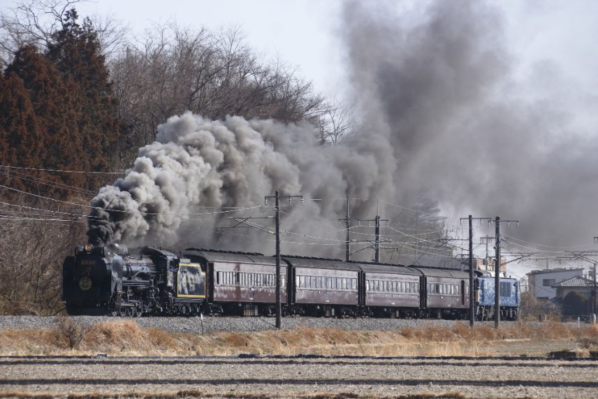 愉快列車SL蒸氣機關車