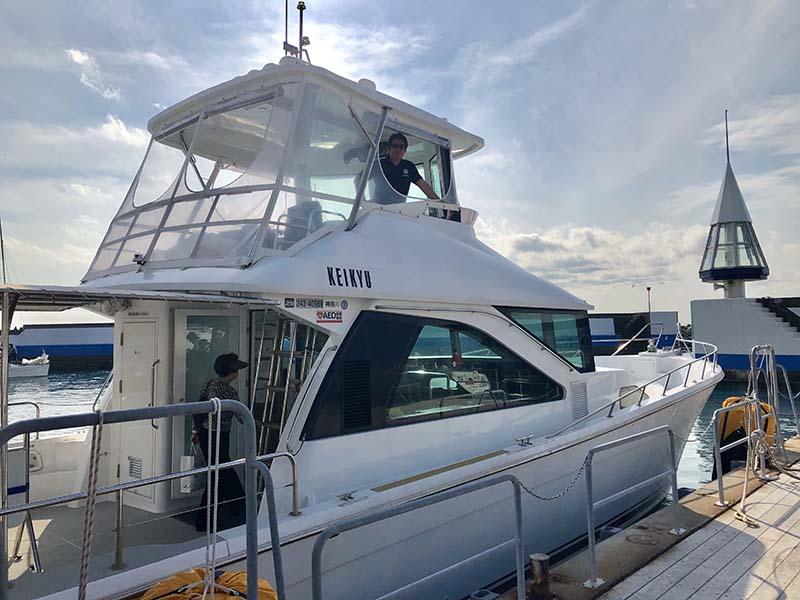 葉山碼頭江之島・裕次郎燈台周遊導覽船