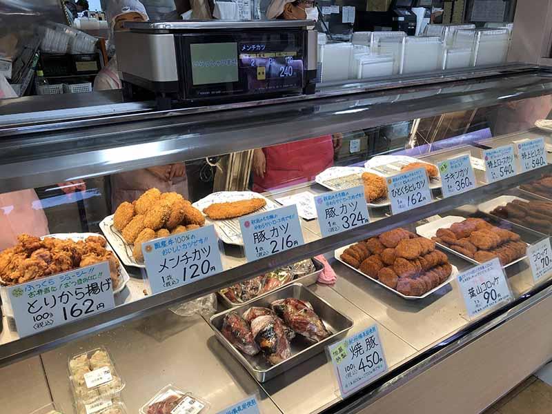 葉山旭屋牛肉店可樂餅燒豚