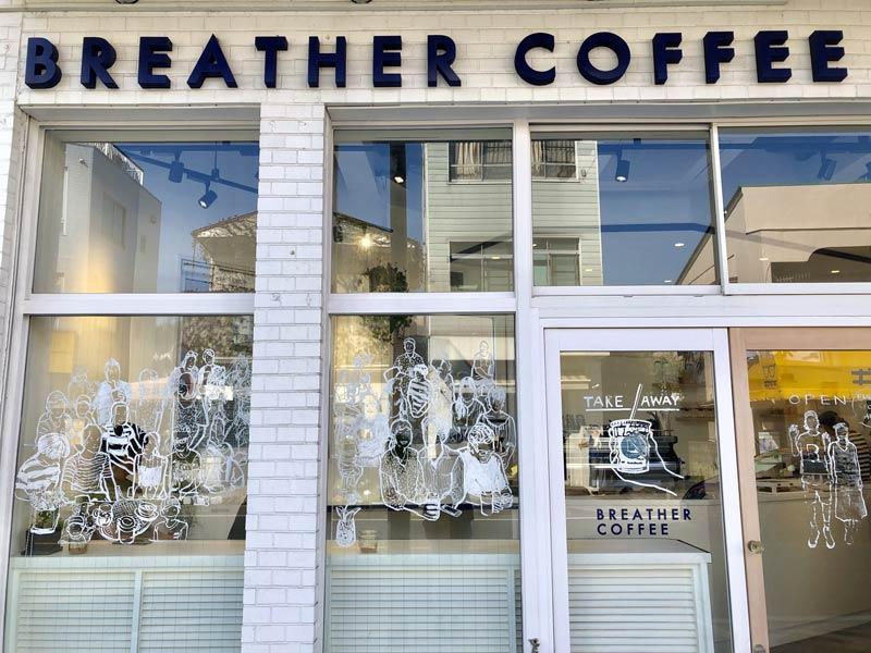 葉山逗子咖啡廳BREATHER COFFEE