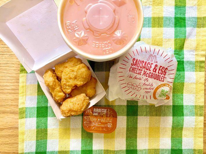 日本麥當勞早餐套餐