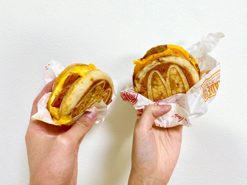 日本麥當勞「鬆餅堡」(マックグリドル)
