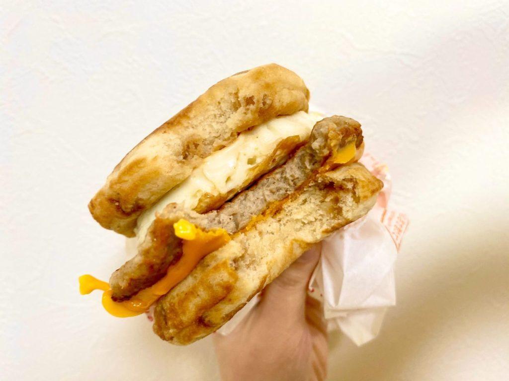 日本麥當勞豬肉蛋鬆餅堡