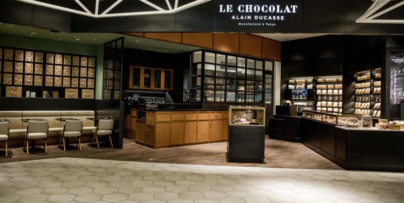 LE CHOCOLAT ALAIN DUCASSE店舖外觀