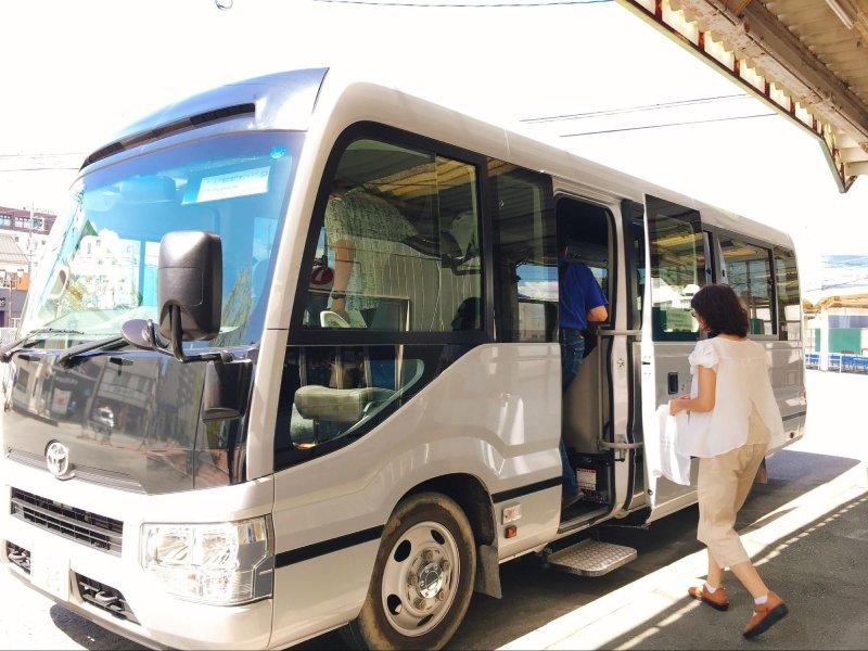 柳川遊船接駁車