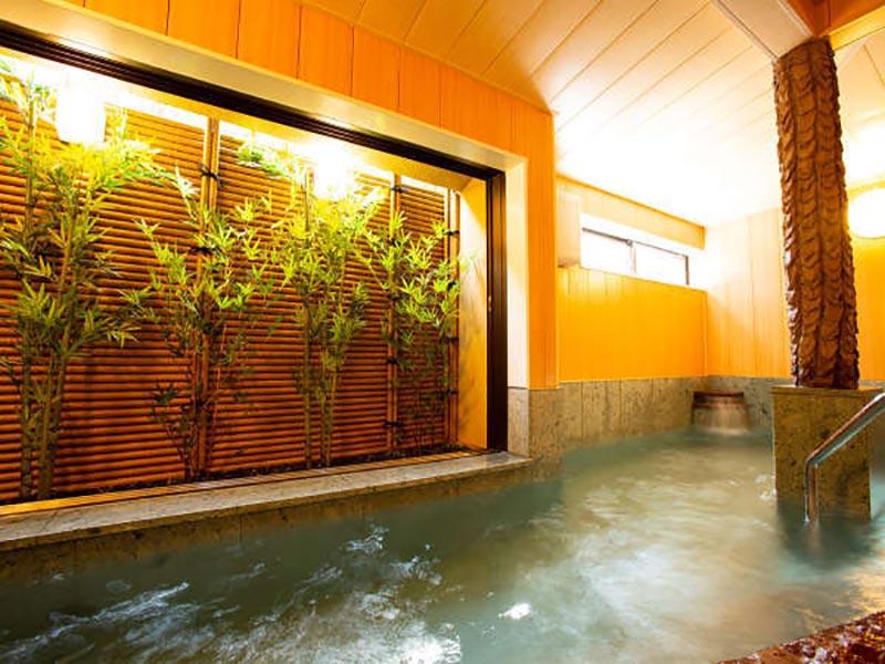 城崎溫泉喜樂館內浴池