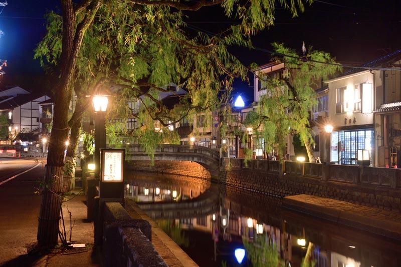 城崎溫泉的晚上