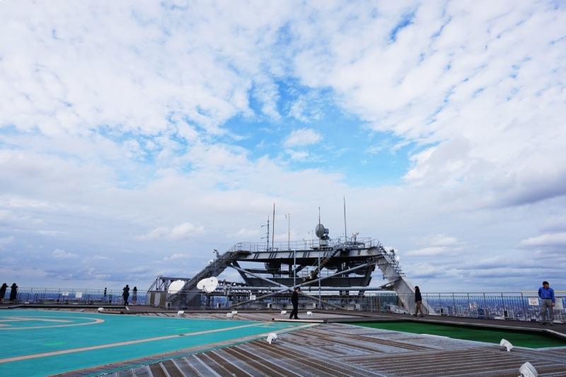 六本木新城森大廈的露天式展望台Sky deck出現的電影場景