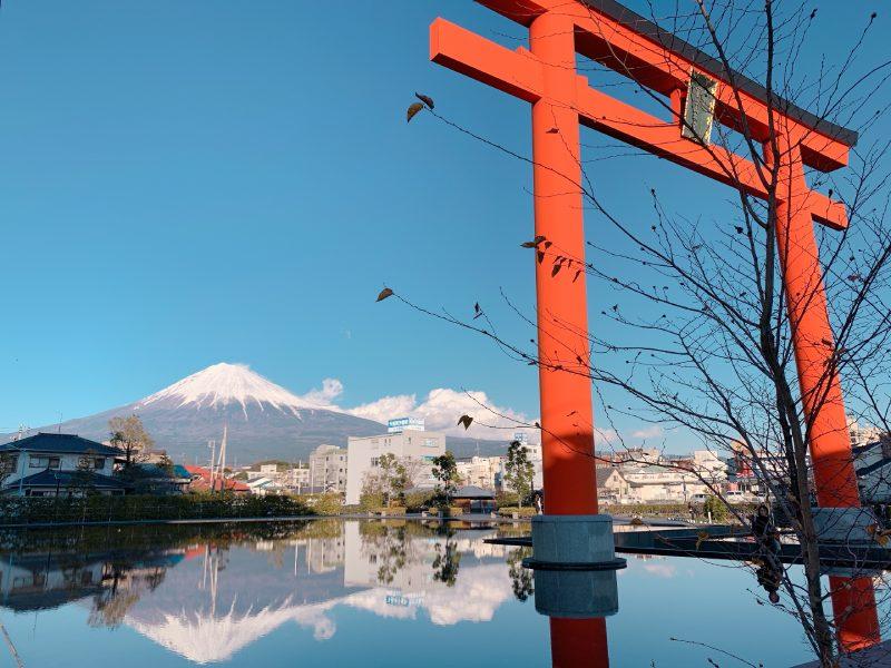 富士宮市逆富士
