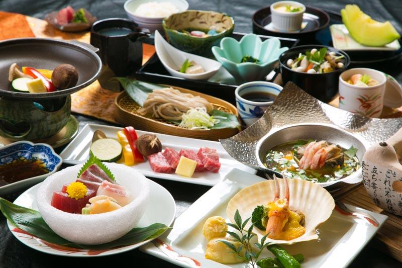 旅館大川莊的晚餐