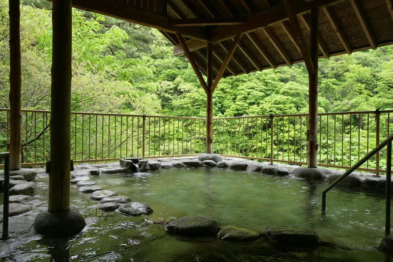 旅館大川莊露天浴池