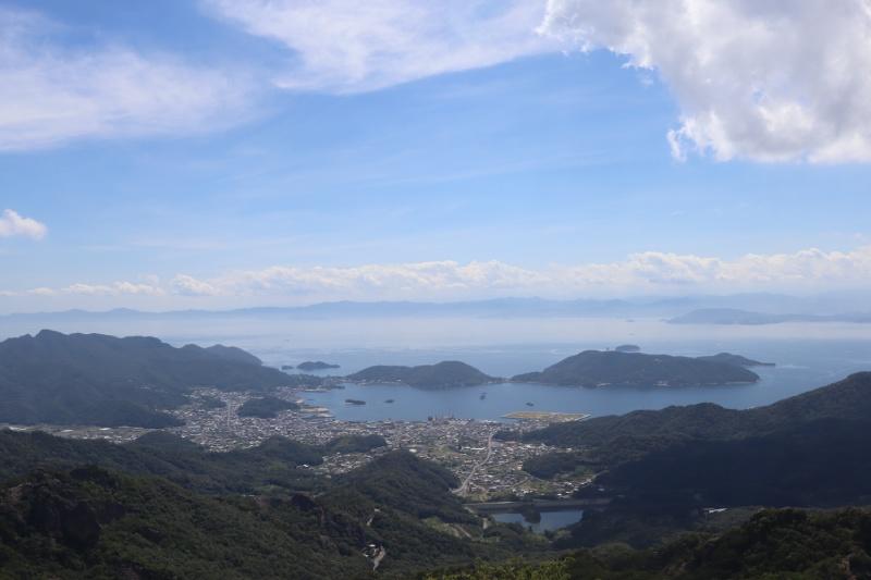 小豆島俯瞰瀨戶內海