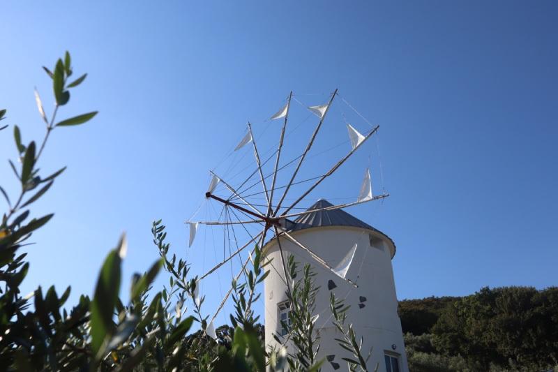 小豆島橄欖公園米洛斯風車