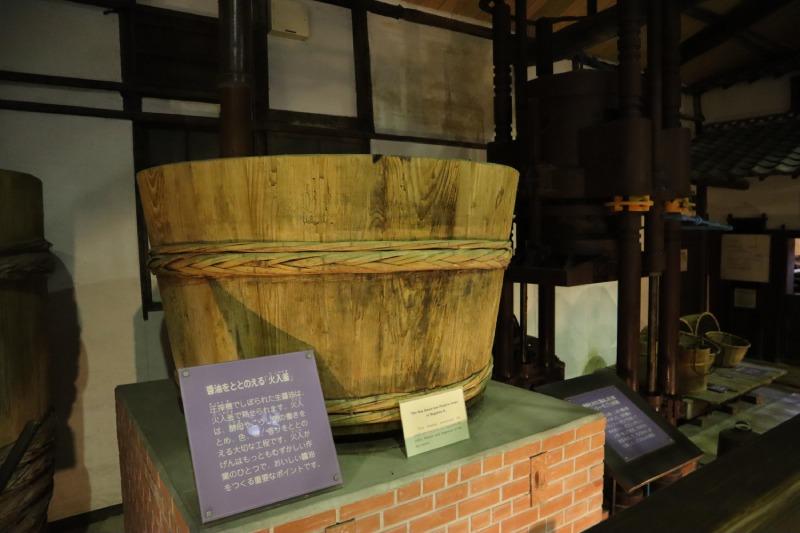 醬油紀念館內部醬油桶