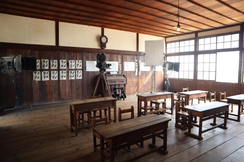 田浦分校教室內部
