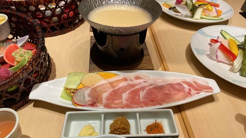 信州產豬肉涮涮鍋