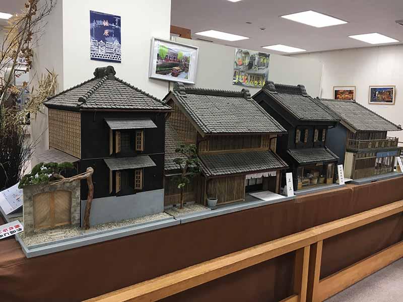 佐原文化交流館內模型