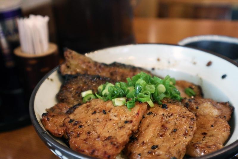 「並盛」味噌豬燒肉丼
