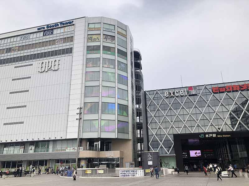 水戶站南口購物中心excel
