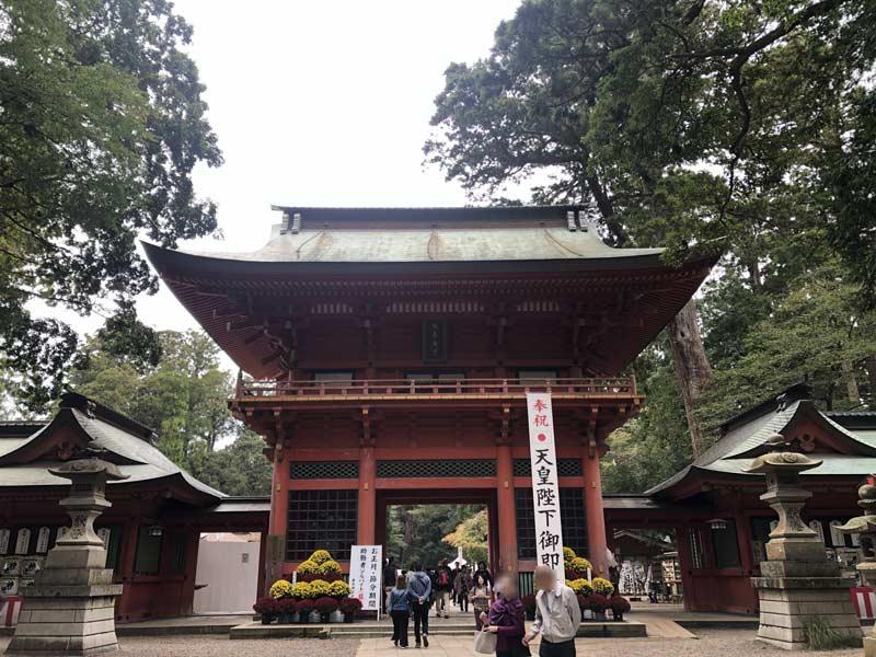 茨城鹿島神宮櫻門