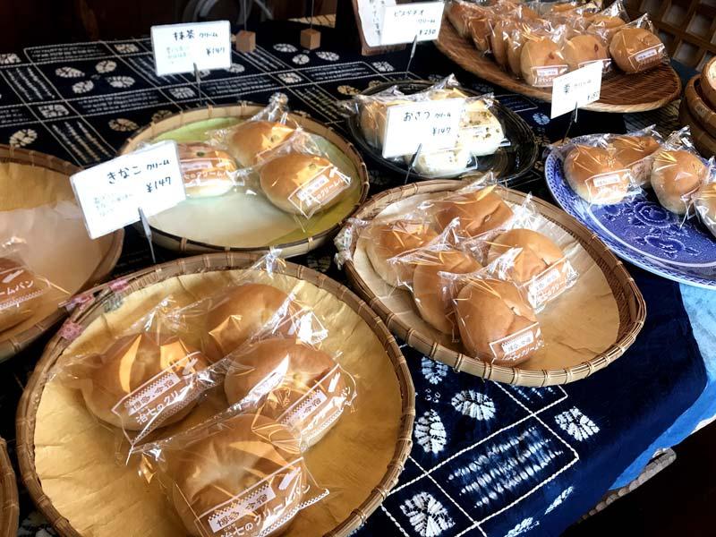 多種奶油麵包