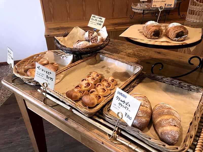 Bakery Hare麵包陳列