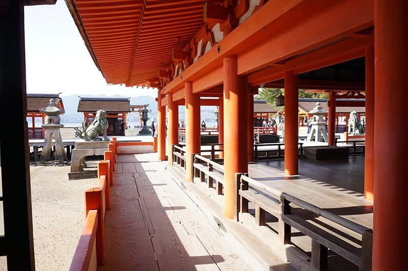 嚴島神社走廊