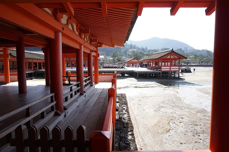 嚴島神社與潮間帶