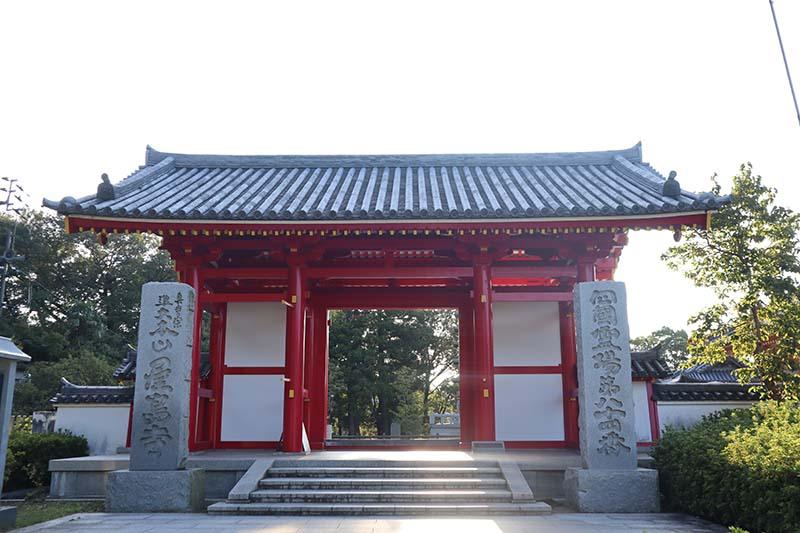 屋島寺正門口