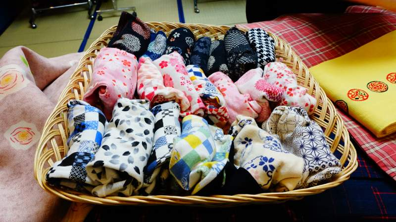 各種可愛花色的足袋