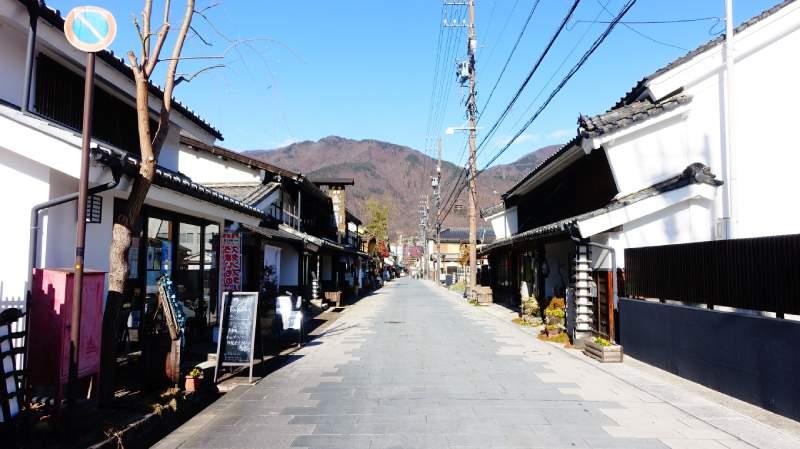 上田舊北國街道柳町