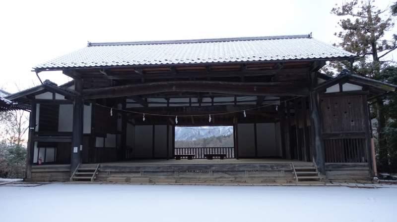 別所神社「神樂殿」舞台