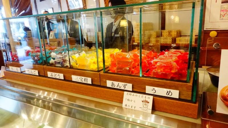 單顆販售的みすず飴(MISUZU糖)