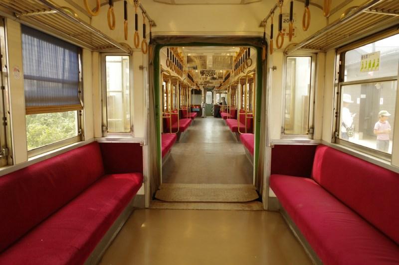 銚子電鐵車內