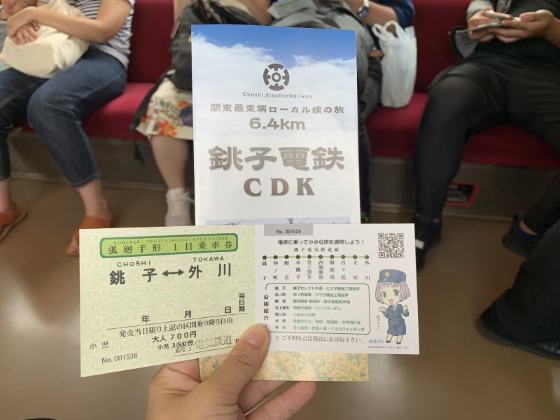銚子電鐵一日券