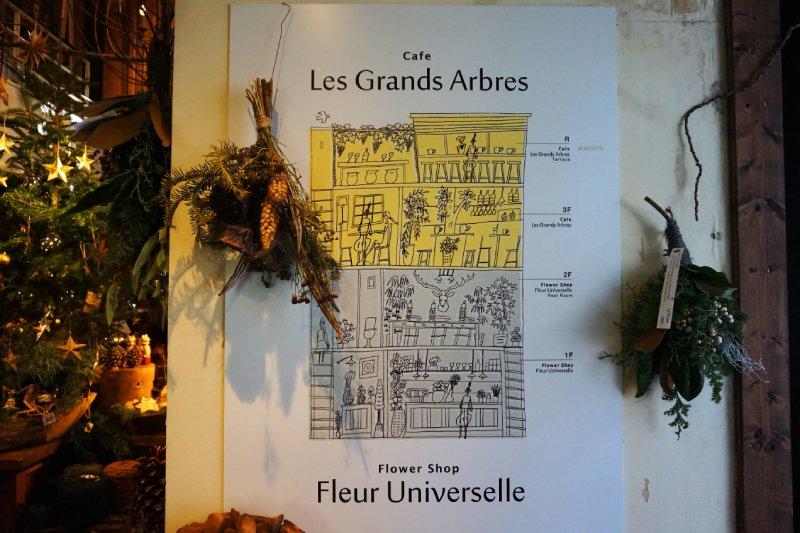 樹屋咖啡Les Grands Arbres樓層圖
