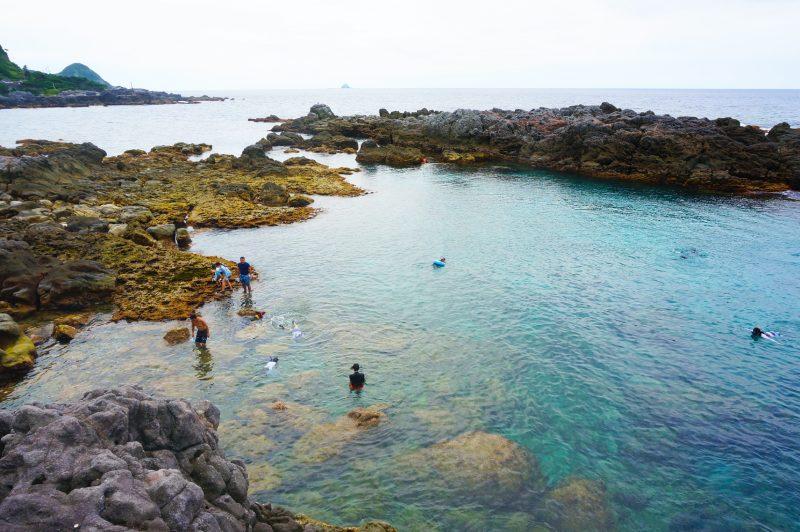 赤崎海岸的透明海水